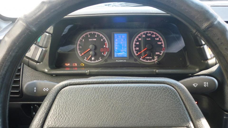 Фото №15 - панель приборов ВАЗ flash ВАЗ 2110